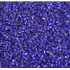 2 Cut Bead Silver Lined Royal Blue 10/0
